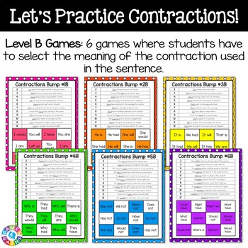 Contractions Centers {BUMP! Games}