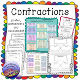 contractions worksheets teaching resources teachers pay