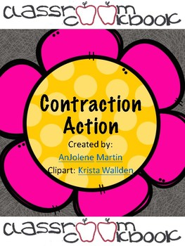 Contractions- 2 Levels of Worksheets!