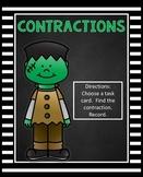 Contractions Activity | Halloween Center