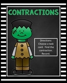 Contractions Activity | Halloween Center