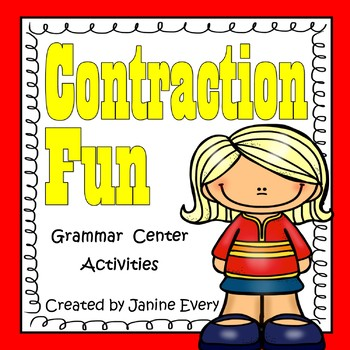Contractions - Grammar Games and Activities
