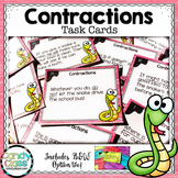 Contraction Task Cards (Using Apostrophes in Contractions) - L.2.2.C