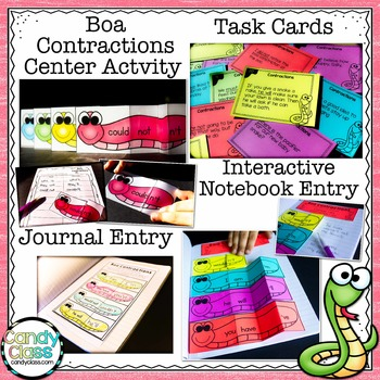 Contractions Bundle- All You Need to Teach It (Lesson, Activities & Assessment)