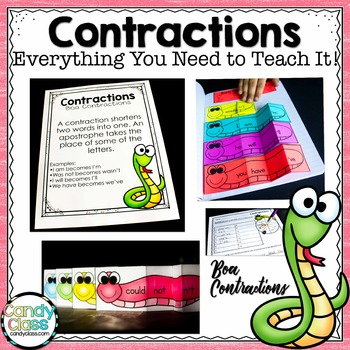Contractions Unit- All You Need to Teach It (Lesson, Activ