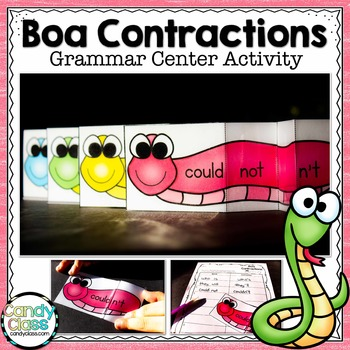 Contraction Activity Cards for Apostrophe Use