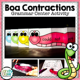 Contraction Practice: 1st and 2nd Grade Grammar Centers fo