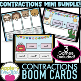 Contractions 3 Game Bundle | Boom Cards  | Grammar