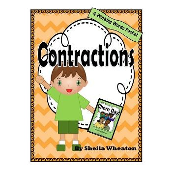 Contractions:  A Working Words Packet for Young Readers