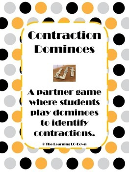 Contractions: A Contractions Dominoes Game