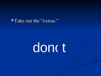 Contractions AREN'T that hard! (PowerPoint)