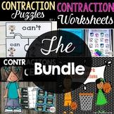 Contractions Activity Bundle