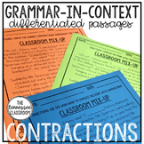 Contractions Activity: Differentiated Reading Passages