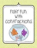 Contractions Activity Pack - Fishy Fun with Contractions
