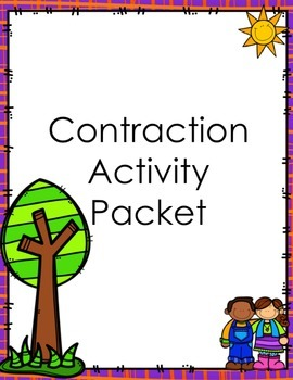 Contractions Activity Packet