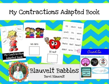 Contractions Adapted Book