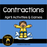 Contractions April Activitites & Games
