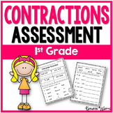 Contractions Assessment 1st Grade