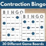 Contractions BINGO Game