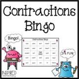 Contractions Bingo!