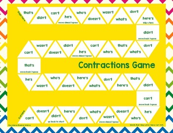 Contractions Board Game