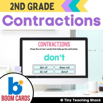 Contractions Boom Cards