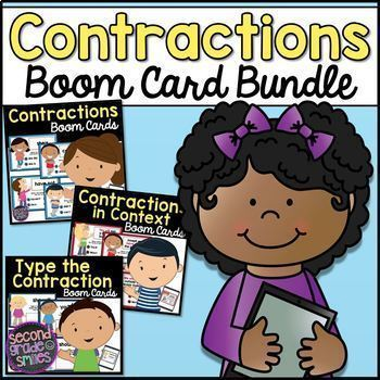 Contractions Boom Cards Bundle