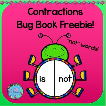 Contractions Bug Book! Freebie!