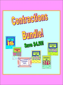 Contractions Bundle!