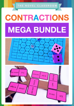 Contractions Bundle - Literacy Activities and Resources