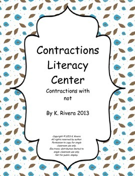 Contractions Center 3
