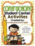 Contractions - Center Activities