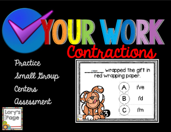 Contractions - Check Your Work
