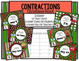 Contractions Christmas Scoot