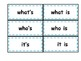 Contractions - Contraction Bee-Action