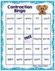 Contractions - Contraction Bingo