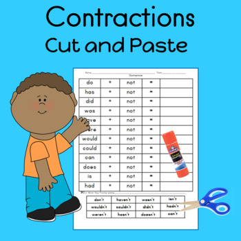 Contractions: Cut and Paste