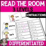 Contractions Read the Room Write the Room  Differentiated
