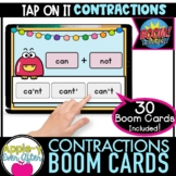 Contractions | Grammar | Digital Task Cards for Boom Cards