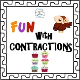 Whiteboard Contractions | Contraction Printables