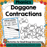 Contractions - Doggone Contractions