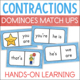 Contractions Activities for Reading Centers