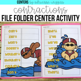 Contractions File Folder Center
