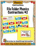 Contractions- File Folder Phonics #2