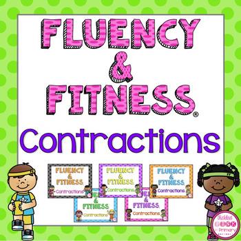Contractions Fluency & Fitness Brain Breaks