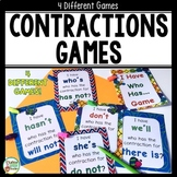 Contractions Activities Games and Flashcards