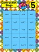 Contractions Activities With I Have, Who Has, Bingo, & Flashcards