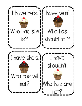 Contractions Game