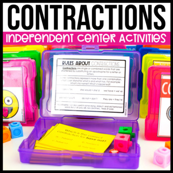Contractions Games and Activities for 2nd Grade