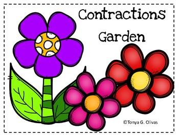 Contractions Garden Craftivity